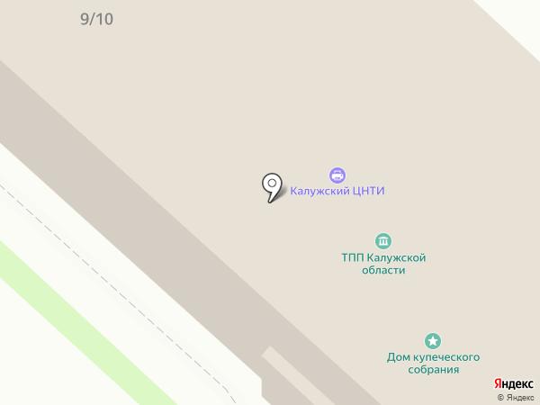 ВЦ КТПП на карте Калуги