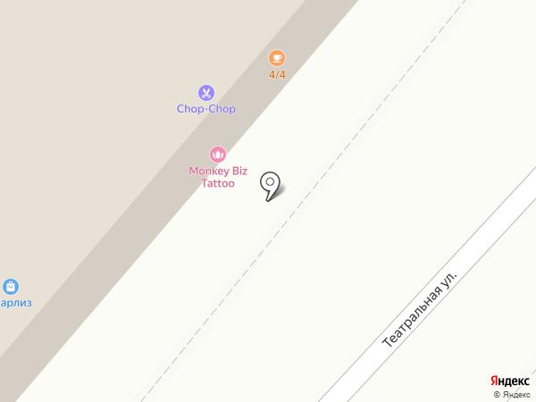 MONKEY BIZ на карте Калуги