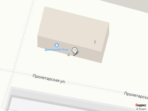 Домашний очаг на карте Калуги