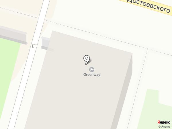 ДекорТекСтиль на карте Калуги