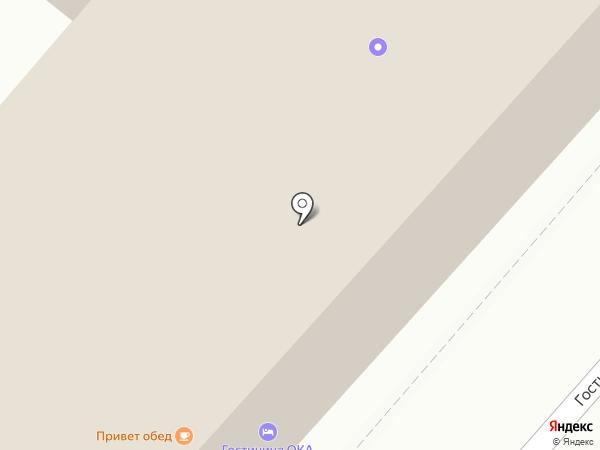 Шарм на карте Калуги