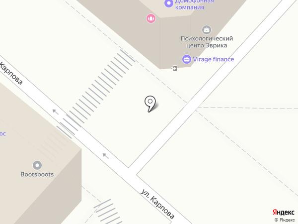 Макс, ЗАО на карте Калуги