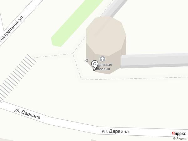 Часовня Казанского девичьего монастыря на карте Калуги
