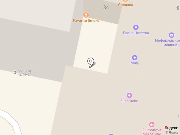 Золотой на карте Калуги
