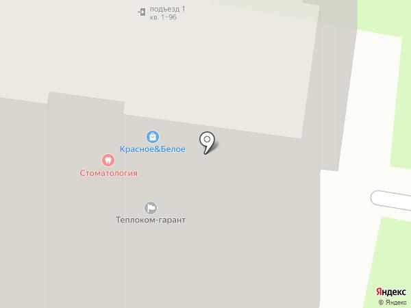 Вектор на карте Курска