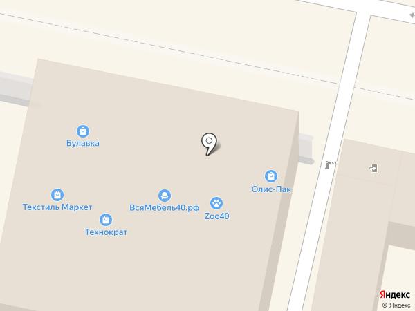 Мебель от российских фабрик на карте Калуги