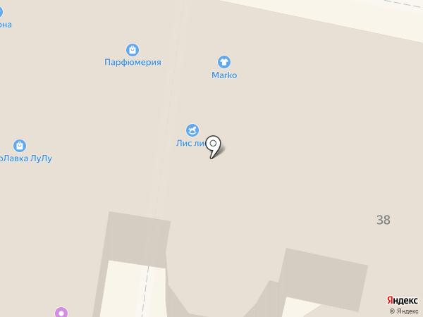 Сеть специализированных магазинов на карте Калуги