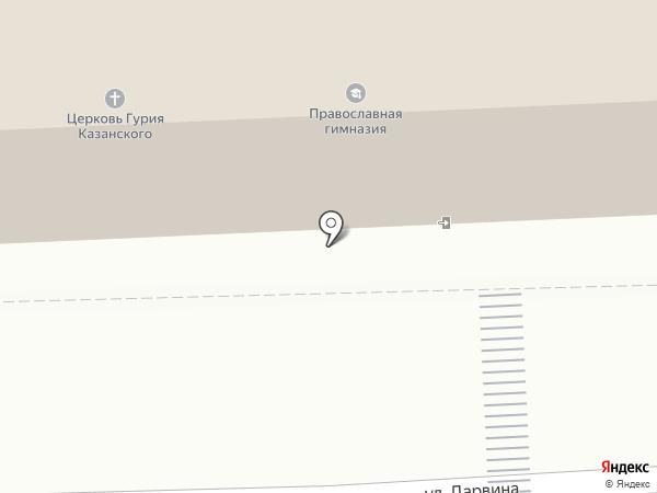 Храм святителя Гурия, архиепископа Казанского на карте Калуги