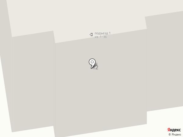 Тихий двор на карте Калуги