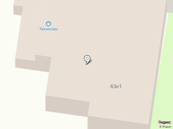 ТехноСлон на карте Курска