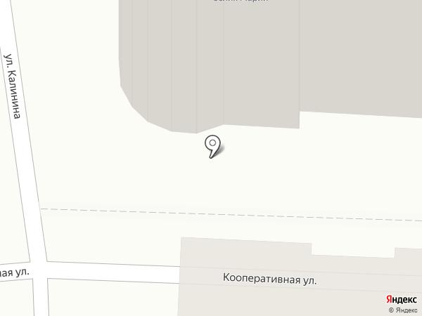 Синичкин на карте Калуги