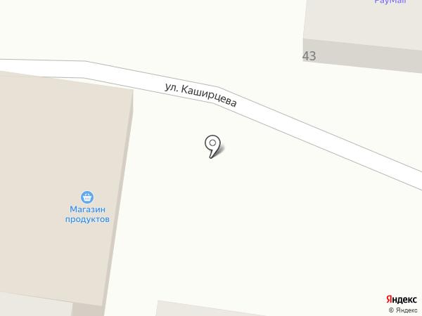 Дак на карте Курска