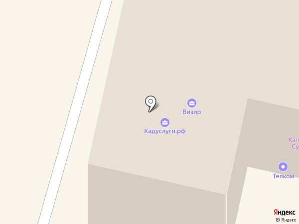 Procanvas.ru на карте Калуги