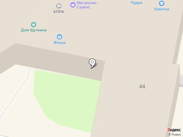 Незнакомка на карте Калуги