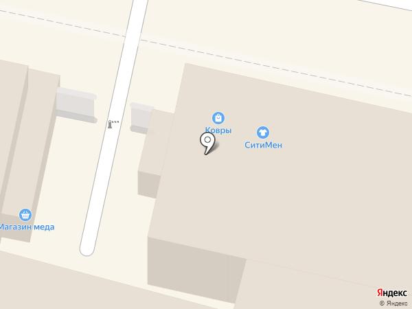 На Театральной на карте Калуги