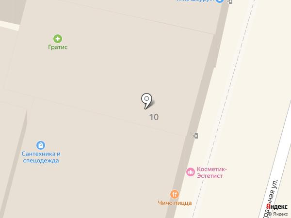Чич пицца на карте Калуги