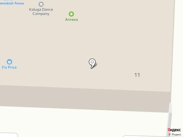БСК на карте Калуги