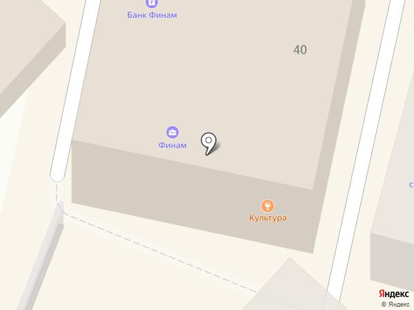 1X BET на карте Калуги