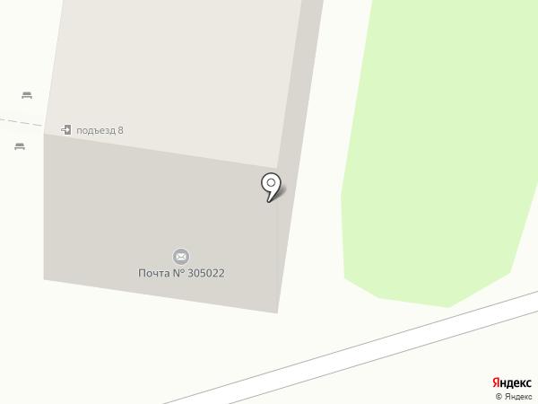 Почтовое отделение №22 на карте Курска