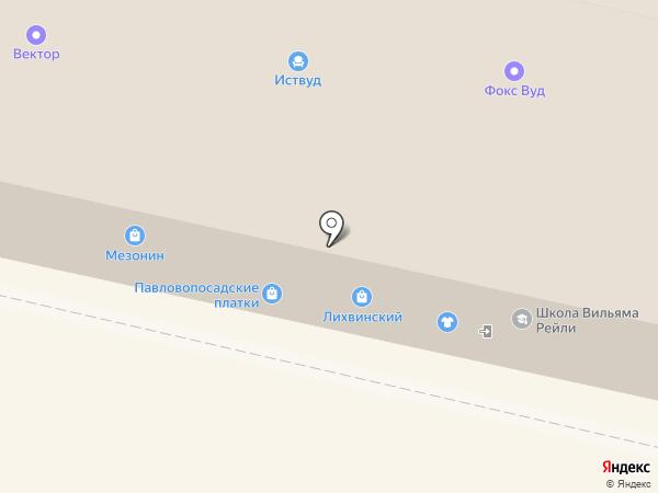 Мезонин на карте Калуги