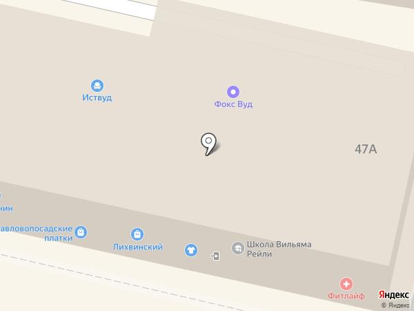 Фокс Вуд на карте Калуги