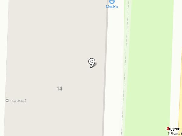 МясКо на карте Калуги