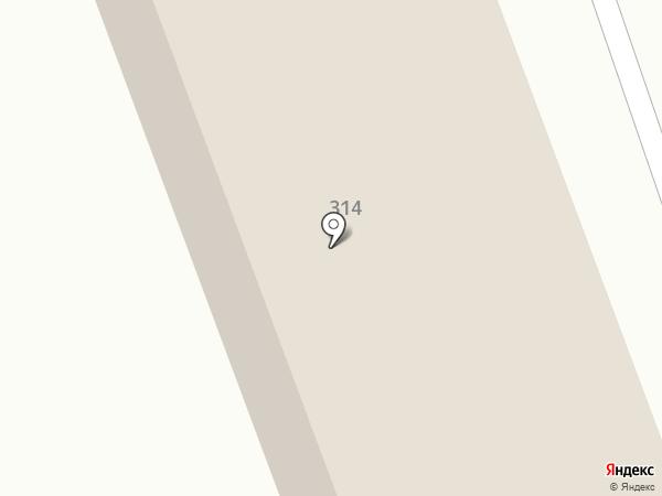 Дорожно-строительное управление №1 на карте Калуги
