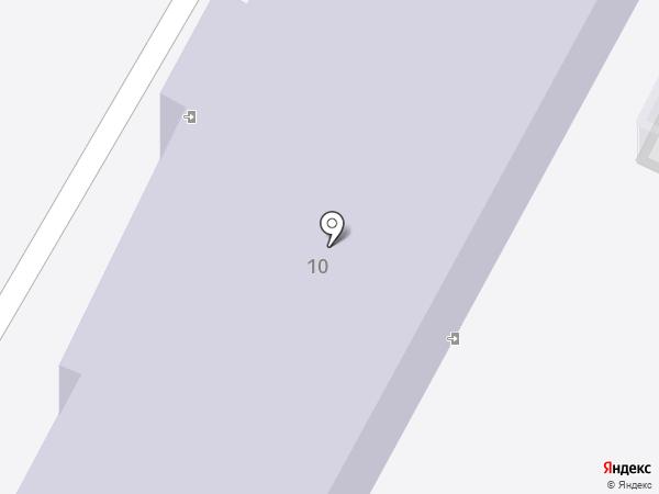 Детский сад №9 на карте Калуги