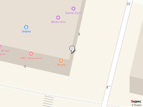Золотой ключ на карте Калуги