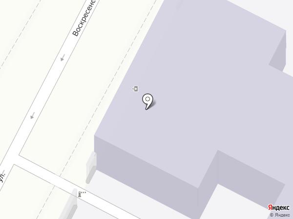 Воскресенская средняя общеобразовательная школа на карте Калуги
