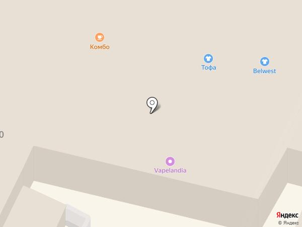 Мажор на карте Калуги