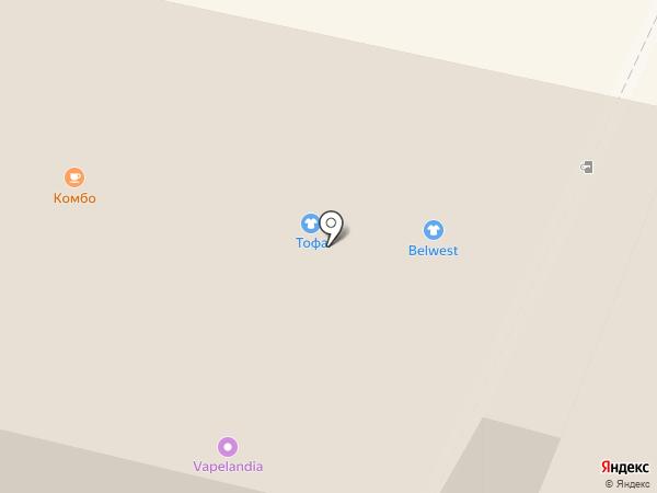 Belwest на карте Калуги