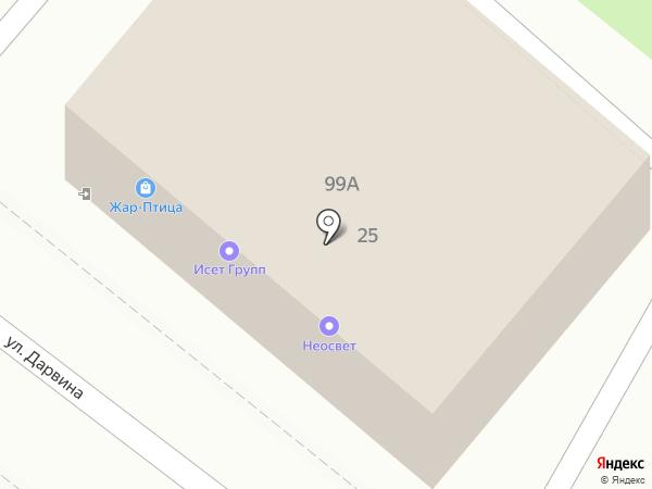 Жар-Птица на карте Калуги