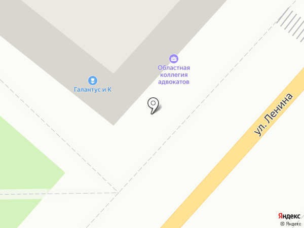 Калужская областная коллегия адвокатов на карте Калуги