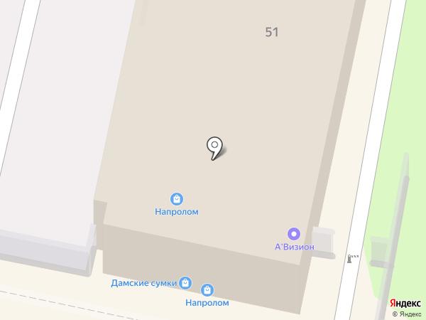 Напролом на карте Калуги
