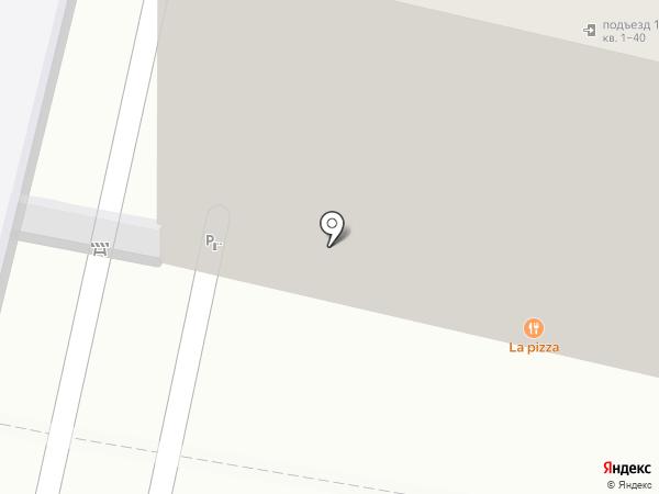 La pizza на карте Калуги