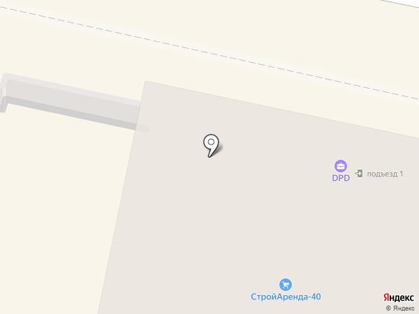 Одеть Доктора на карте Калуги