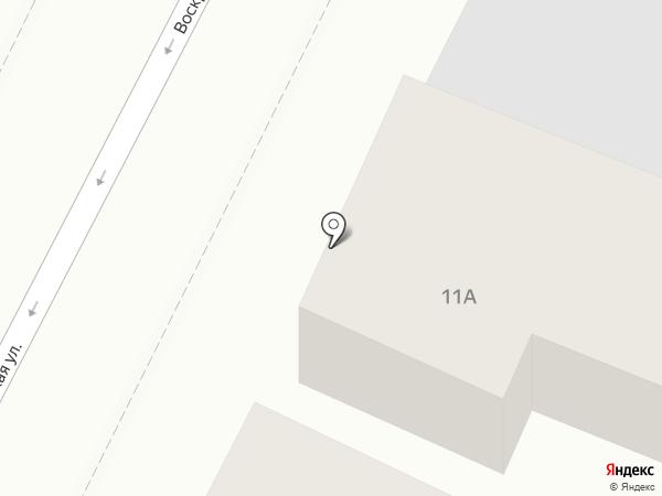 Копицентр на карте Калуги