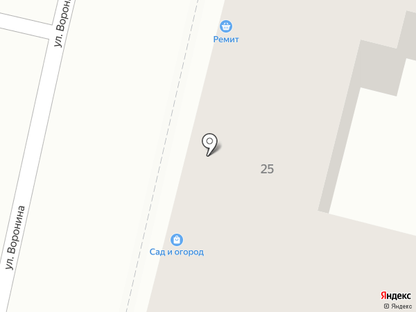 Арт Фурор на карте Калуги