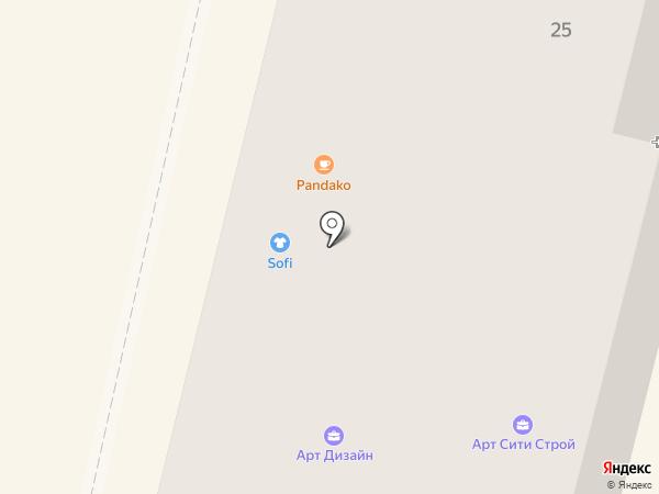 Мадам на карте Калуги