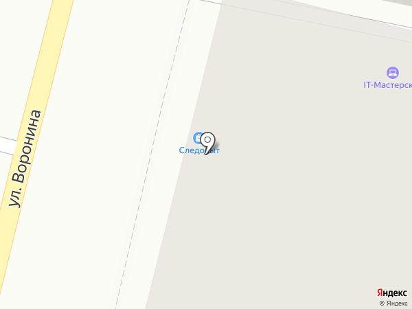 СЛЕДОПЫТ на карте Калуги