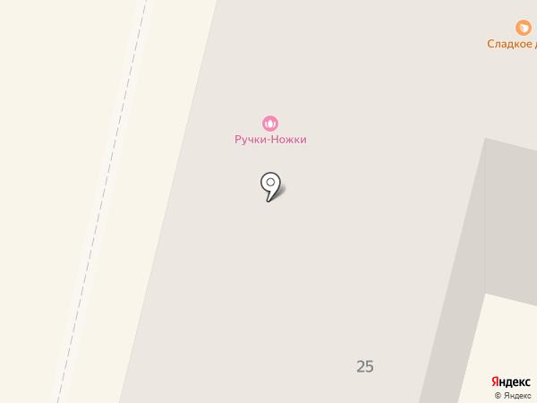 Пальчики на карте Калуги