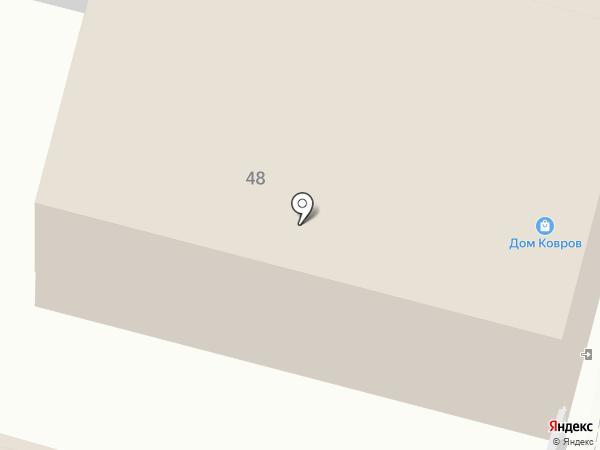 Ковровый рай на карте Калуги
