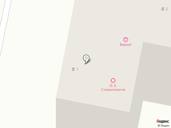 Клиника детской стоматологии на карте Калуги