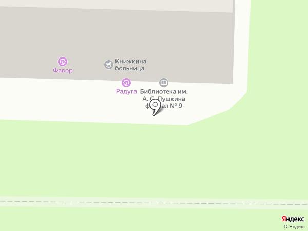 Городская библиотека им. А.С. Пушкина на карте Калуги