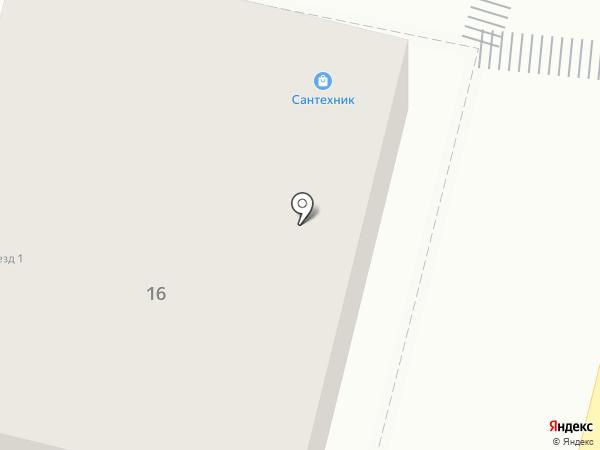 Сантехник на карте Калуги
