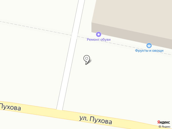 Киоск по ремонту обуви на карте Калуги