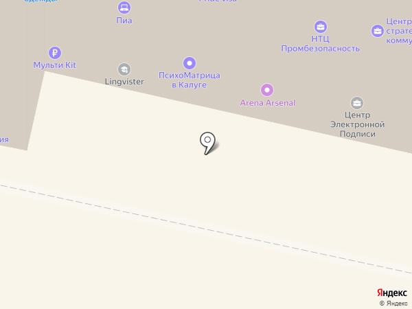 Промсвязьбанк, ПАО на карте Калуги
