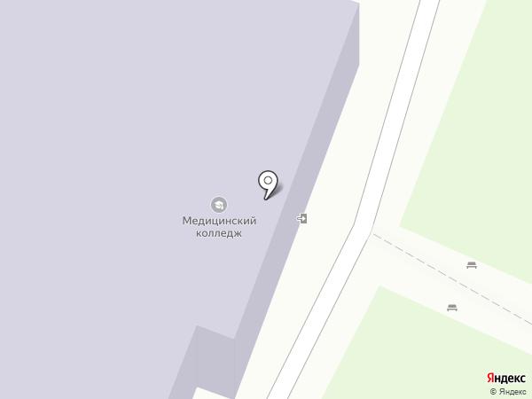 Калужский базовый медицинский колледж на карте Калуги