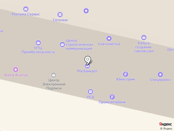 Воронежская Электросетевая Компания на карте Калуги